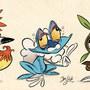 Pokemon Starter 6th gen