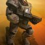 Desert Battle Suit by Artist-Lost