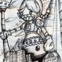 Super Big Nana Teisen Robot by MAKOMEGA