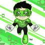 Green Lantern Kyle Rayner by ionrayner
