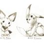 Pikachu and Pichu by drawingsofpokemon