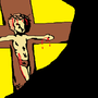 Jesus on the Cross by Awesomkia