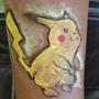 Body Painting - Pikachu by joejamz99