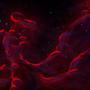 Crimson Nebula by BrainofBarbedWires