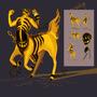 Demon Centaur Concept by Syringes