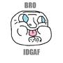 New troll (idk and idgaf)
