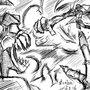 Hank vs Tricky by KiloCrescent