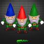 Evil gnomes by denmyz