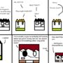 A Poorly Drawn Webcomic #1 by Noklevername