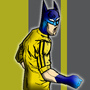 BAT LEE wallpaper background by CHEAPTOONS