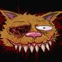 Necro Kitten by CrazyBadB0y