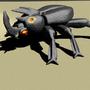 Mammoth beetle by Zanroth