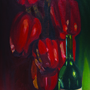 Peppers and Wine by kongluirong