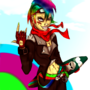Rainbow Dash Human form by MAKOMEGA
