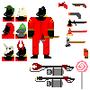 TF2 pixel pyro by aaronbill3