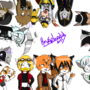 All my characters drawing by HowSplendid