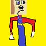 Minecraft Mario by ElykSirrom