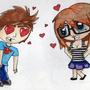 awe their in love by LittleNerdyGem