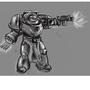 Terminator WIP by JackalBeast