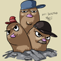 Dugtrio by Mabelma