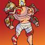 Fire Lighter Knight! by HugoVRB