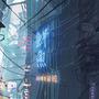 Cyberpunk City/The Chase by YakovlevArt