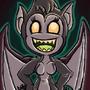 demon girl by megadrivesonic