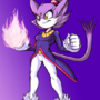 Blaze The Cat by Elcamaron