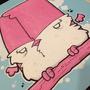 Pink Owl by jetpacknrollerskates