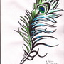 peacock feather by JayYay