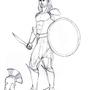 Thaeus sketch by AlexanderTheInsane