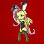 Bunnyshy by draneas
