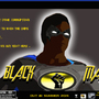 BLACKMAN THE MOVIE poster by CHEAPTOONS