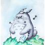 Totoro by Vailer