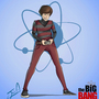 Howard Wolowitz cartoon by andresdibuja92