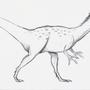 Dilophosaurus by SquirrelMonkey