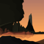 Dawn of the lighthouse by Smilodonfatalis