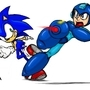 The Blue Blur and Bomber by MylesAnimated