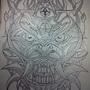 tri eyed demon by jwaphreak