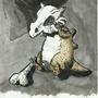 Sad Cubone by Metal-kiwi
