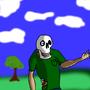 My Zombie friend Ted by BioElderNeo