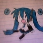 Quick Tracing Of Miku by Awesomeboy2000