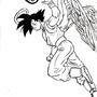 Angel Son Goku!