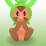 Chespin Likes Cookies by NinjaCube