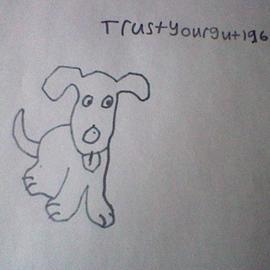 Cartoon Dog Bad Drawing By Trustyourgut196 On Newgrounds