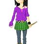 Manga Style Punk Girl