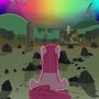 Pinkamena & the Sonic Rainboom by CleverDerpy