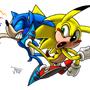 Sonic vs Sonichu