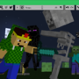 Minecraft, Me And Porkers VS.. by pengunick