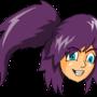 Shaded girl head by foxfinity